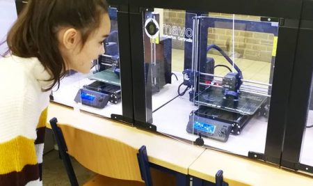 Nog even snel 3D-printen voor de lockdown ingaat.