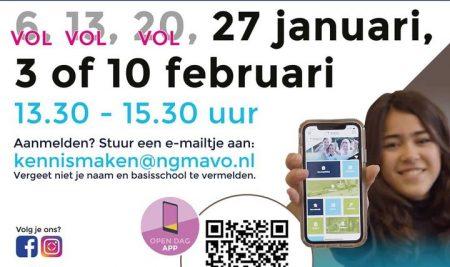 MEELOOPMIDDAG – UPDATE 6, 13 en 20 januari zitten vol.