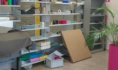 CORONAPROOF pakketjes bezorgen voor de workshop (keuzevak) TechMavo.