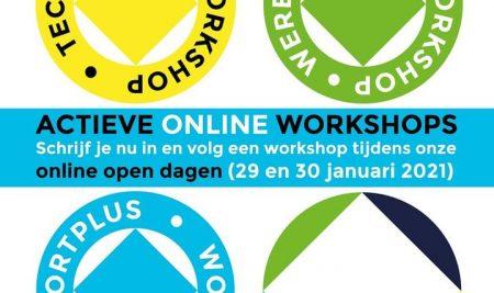 ACTIEVE online WORKSHOPS keuzevakken.