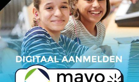 DIGITAAL AANMELDEN Aankomende dinsdag t/m donderdag staan de officiële aanmelddagen voor de middelbare scholen in onze regio gepland.
